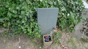 Douglas Adams' grave